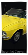 1967 Chevy Corvair Monza Beach Towel