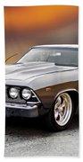 1968 Chevrolet Chevelle Ss L Beach Towel