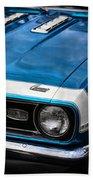 1968 Chevy Camaro Ss 396 Beach Towel by Gordon Dean II