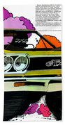 1968 Plymouth Gtx - Adios Beach Towel
