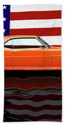 1969 Camaro Tribute Beach Towel