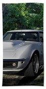 1969 Corvette Lt1 Coupe I Beach Towel
