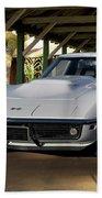 1969 Corvette Lt1 Coupe II Beach Towel