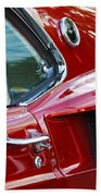 1969 Ford Mustang Mach 1 Side Scoop Beach Towel