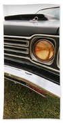 1969 Plymouth Road Runner 440-6 Beach Towel
