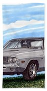 1970 Dodge Challenger Beach Towel