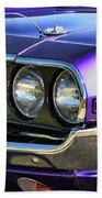 1970 Dodge Challenger Rt 440 Magnum Beach Towel