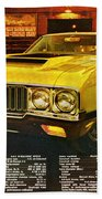 1970 Oldsmobile Cutlass 442 W-30 Beach Towel