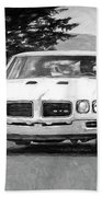 1970 Pontiac Gto Beach Towel