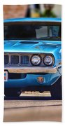 1971 Plymouth 'cuda 383 Beach Towel
