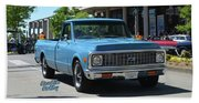 1972 Chevy C10 Bohall Beach Towel