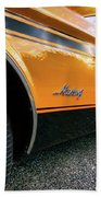 1973 Ford Mustang Beach Towel
