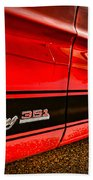 1973 Ford Mustang Mach 1 351 High Performance Beach Towel