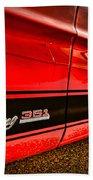 1973 Ford Mustang Mach 1 351 High Performance Beach Sheet