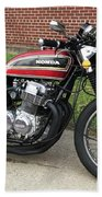 1973 Honda Cb750 Beach Towel