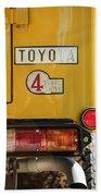 1978 Toyota Land Cruiser Fj40 Taillight Emblem -1191c Beach Towel
