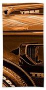 1980 Pontiac Trans Am Beach Towel