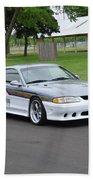 1995 Clarion Mustang Gt Herr Beach Towel