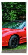 1998 Pontiac Firebird Trans Am Beach Towel