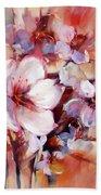 1almonds Blossom  13 Beach Towel