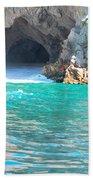 Pirates Cave Beach Towel