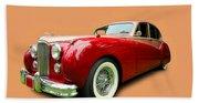 1953 Jaguar M K V II Beach Towel