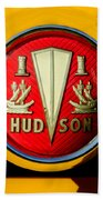 1954 Hudson Grille Emblem Beach Towel