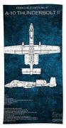 A-10 Thunderbolt II  Beach Towel