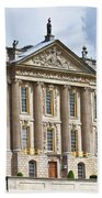 A View Of Chatsworth House, Great Britain Beach Towel