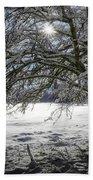 A Winter's Tale Beach Sheet