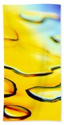 Abstract Water Beach Towel