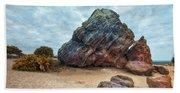 Agglestone Rock - England Beach Towel
