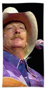 Alan Jackson Beach Towel