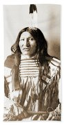 American Indian Chief Beach Towel
