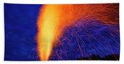 Amish Fireworks Beach Towel