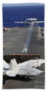 An E-2c Hawkeye Launches Beach Towel