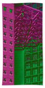 Architectural Abstract Beach Towel