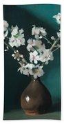 Australian Almond Blossom Beach Towel