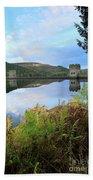 Autumn Derwent Reservoir Derbyshire Peak District Beach Towel