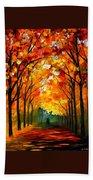 Autumn Beach Sheet