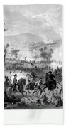 Battle Of Gettysburg Beach Towel by War Is Hell Store