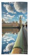 Big Ben London Beach Towel