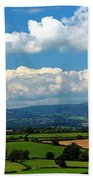 Black Mountains And Vale Of Usk Beach Towel