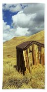 Bodie Outhouse Beach Towel