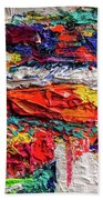 Boom Of The Tingling Strings Beach Towel
