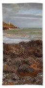 Bracelet Bay And Mumbles Lighthouse Beach Towel