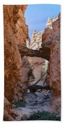 Navajo Trail Natural Bridge Beach Towel
