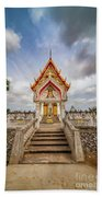 Buddhist Temple Beach Towel by Adrian Evans