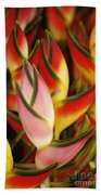 Bunch Of Heliconia Beach Towel
