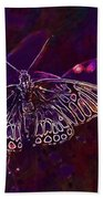 Butterfly Insect Wing Wildlife Bug  Beach Towel